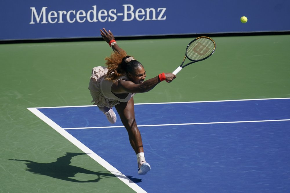 A First for the U.S. Open: Serena Hits 100