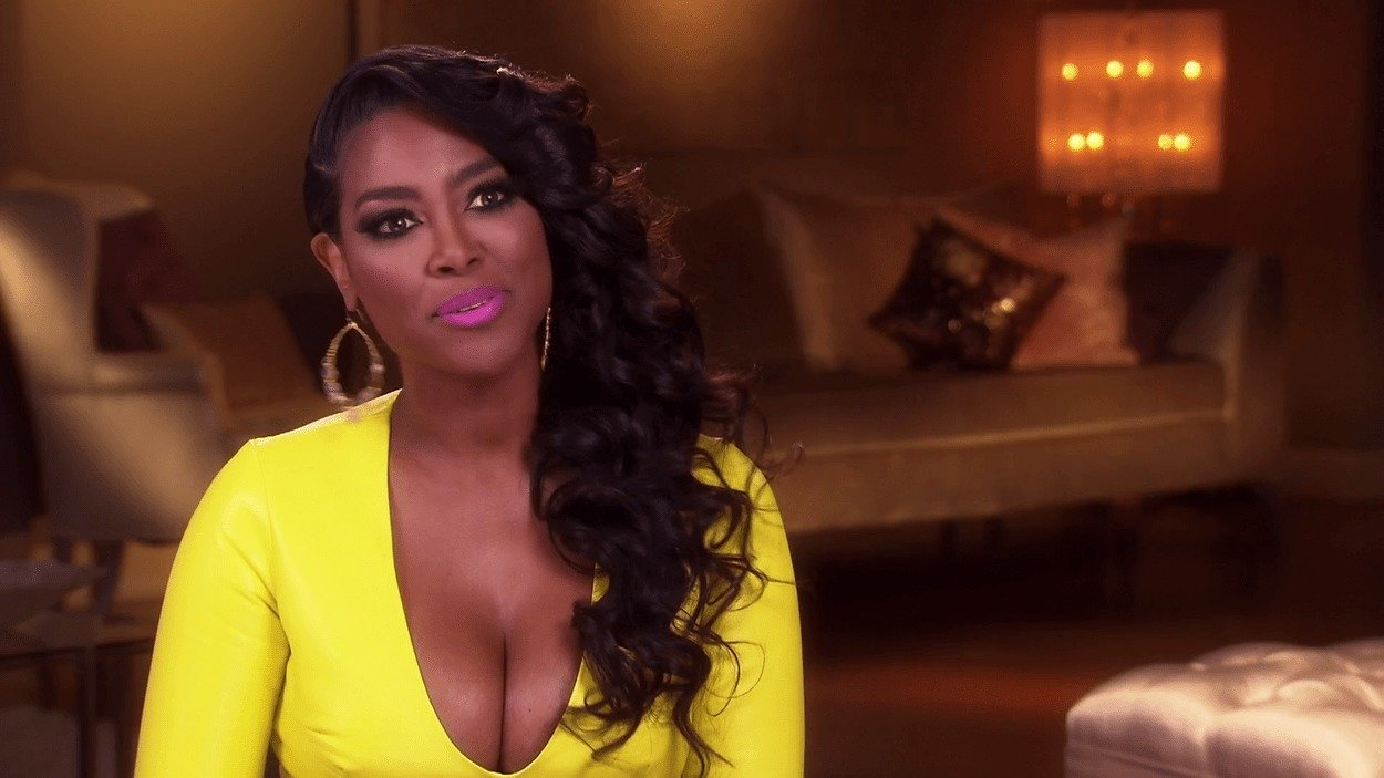 Kenya Moore Has Great News About Her Hair Care Line
