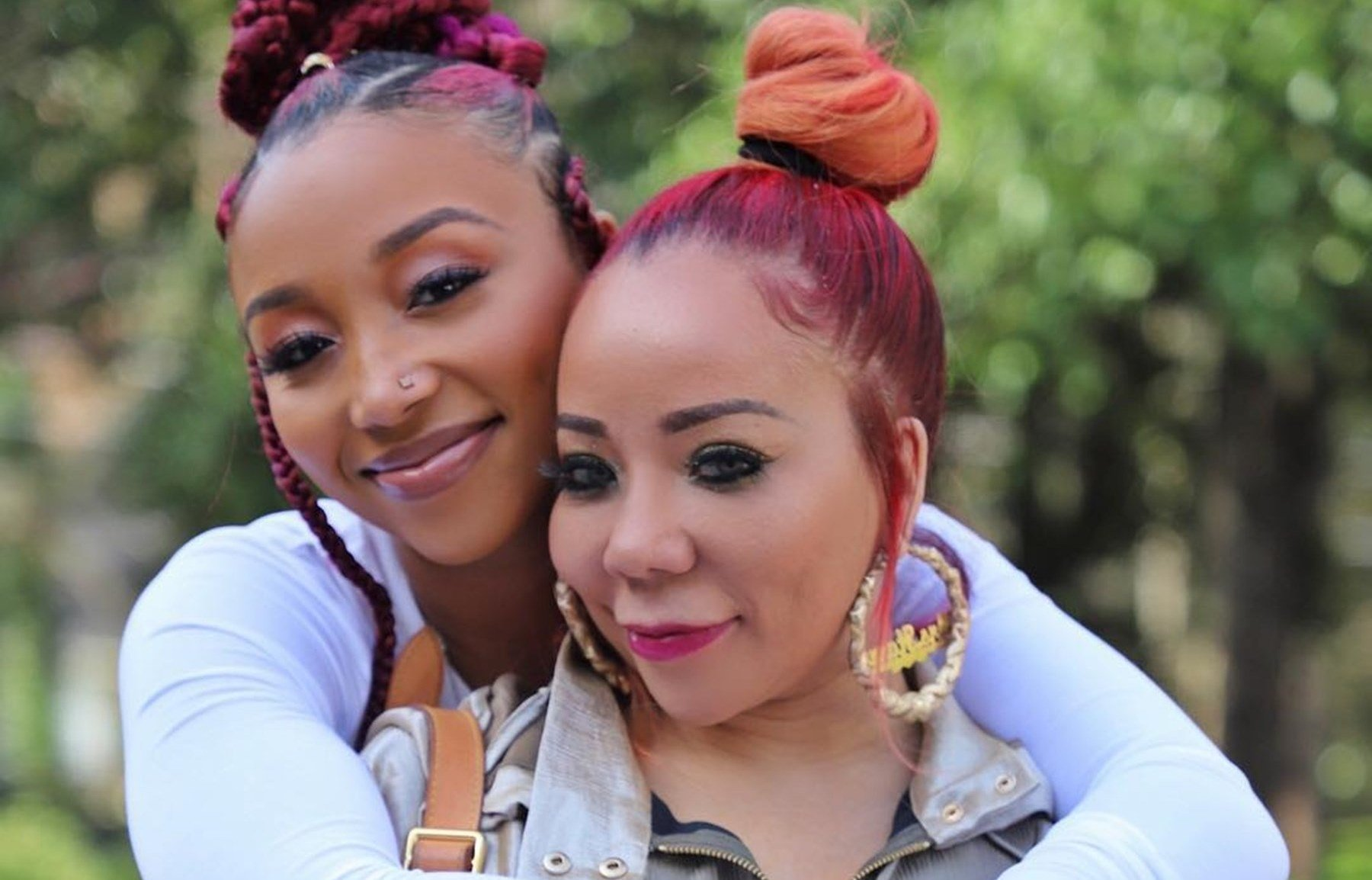 Tiny Harris Drops Gorgeous Throwback Photos Of Zonnique Pullins For The Firstborn Challenge