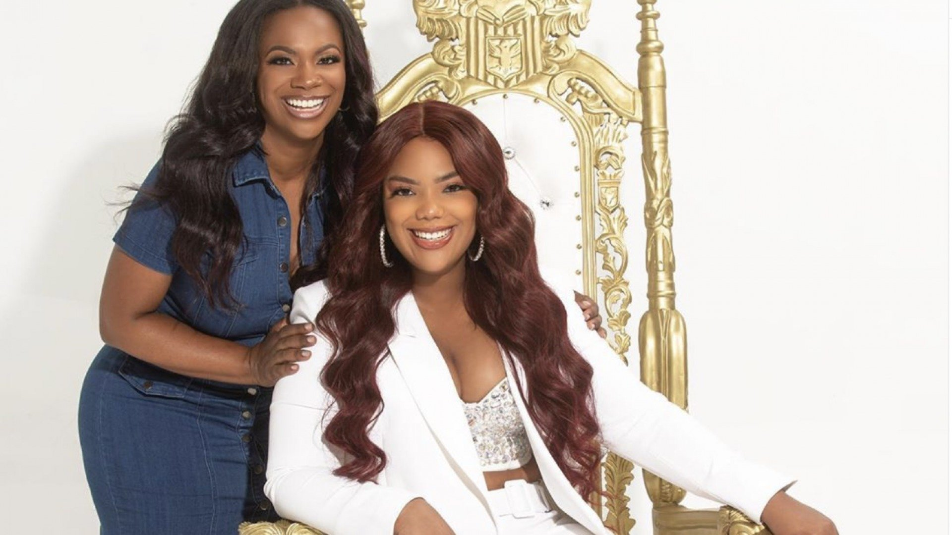Kandi Burruss Shares Gorgeous Photos With Riley Burruss For The Firstborn Challenge