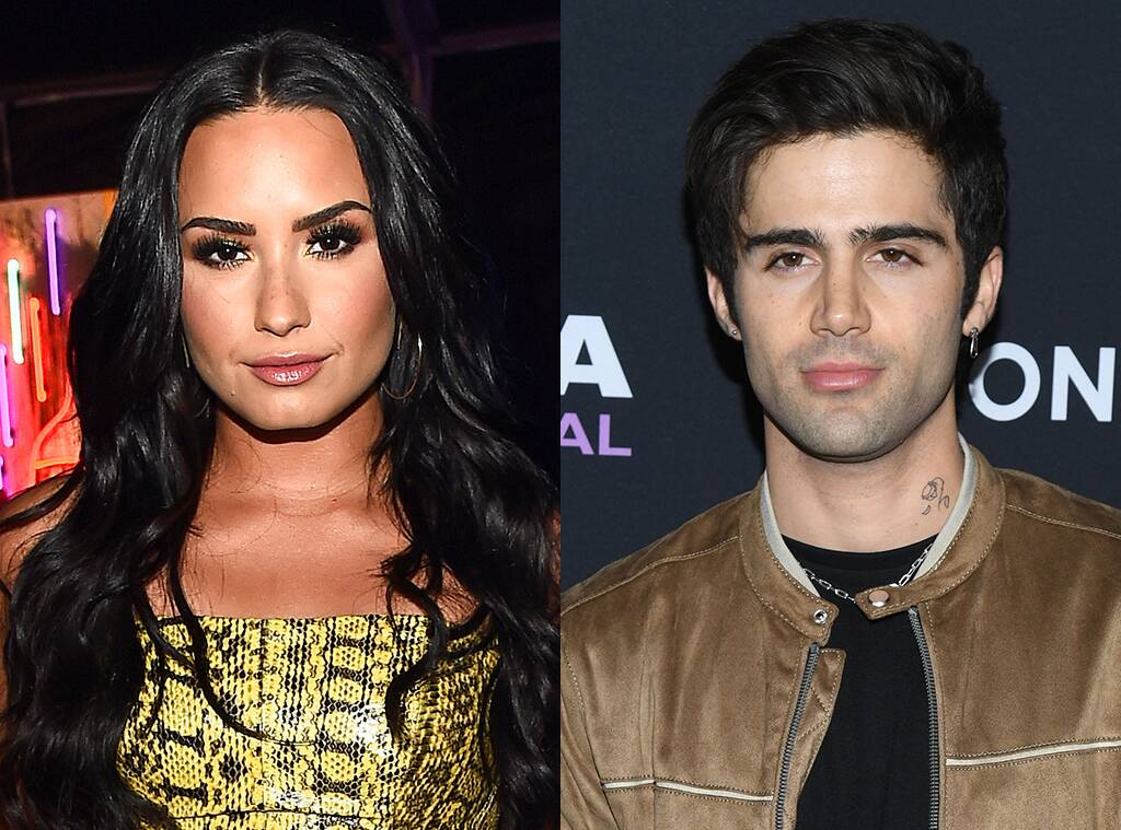 Max Ehrich Claims He Learned About Demi Lovato Split From Tabloids But Source Says 'He's Lying!'