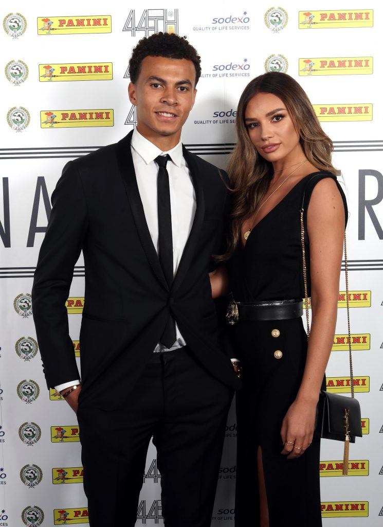 Dele and Ruby at an awards bash