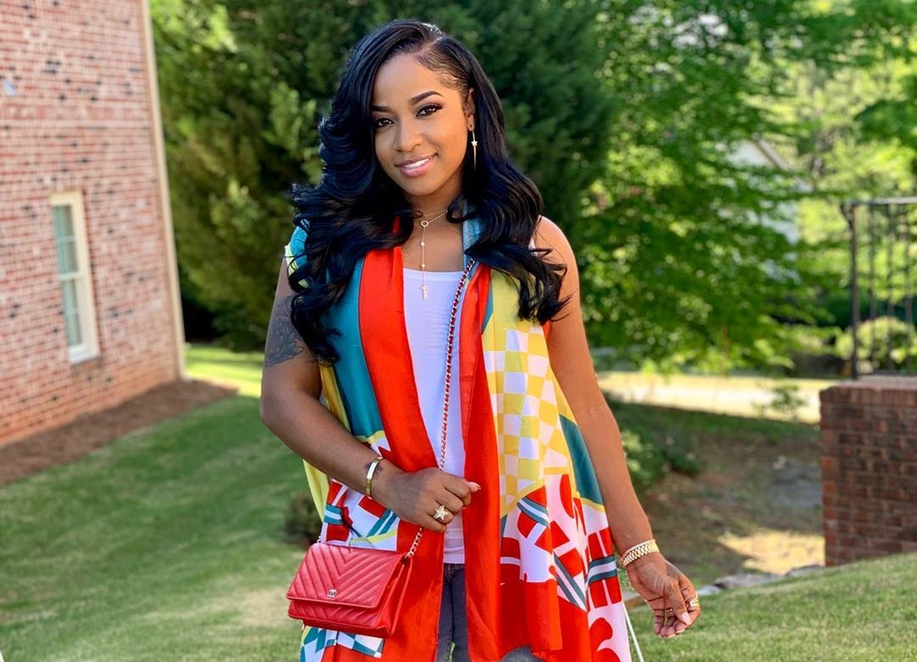 Toya Johnson Has The Best Time At The Beach On Her Vacay