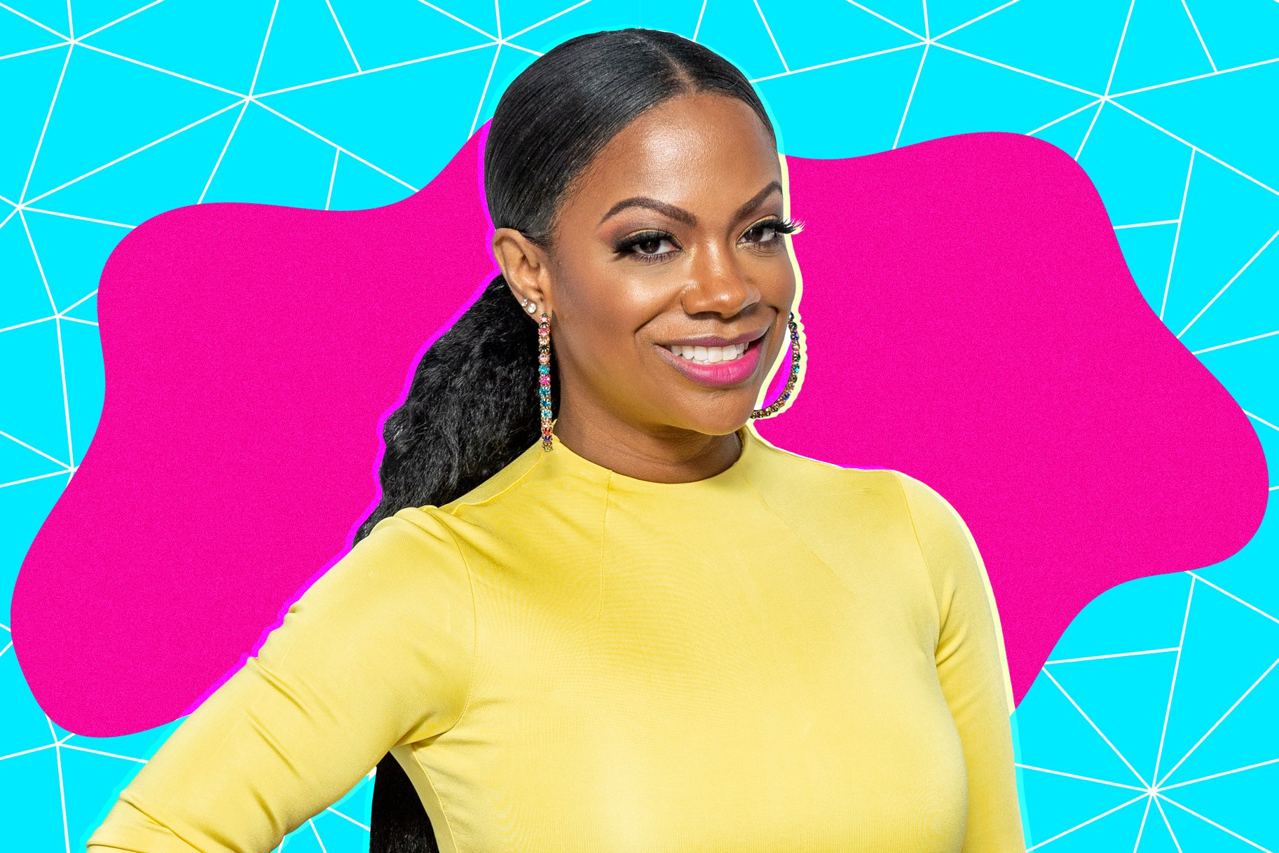 Kandi Burruss Is Pretty In Pink – Fans Say She Is Twinning With Riley Burruss