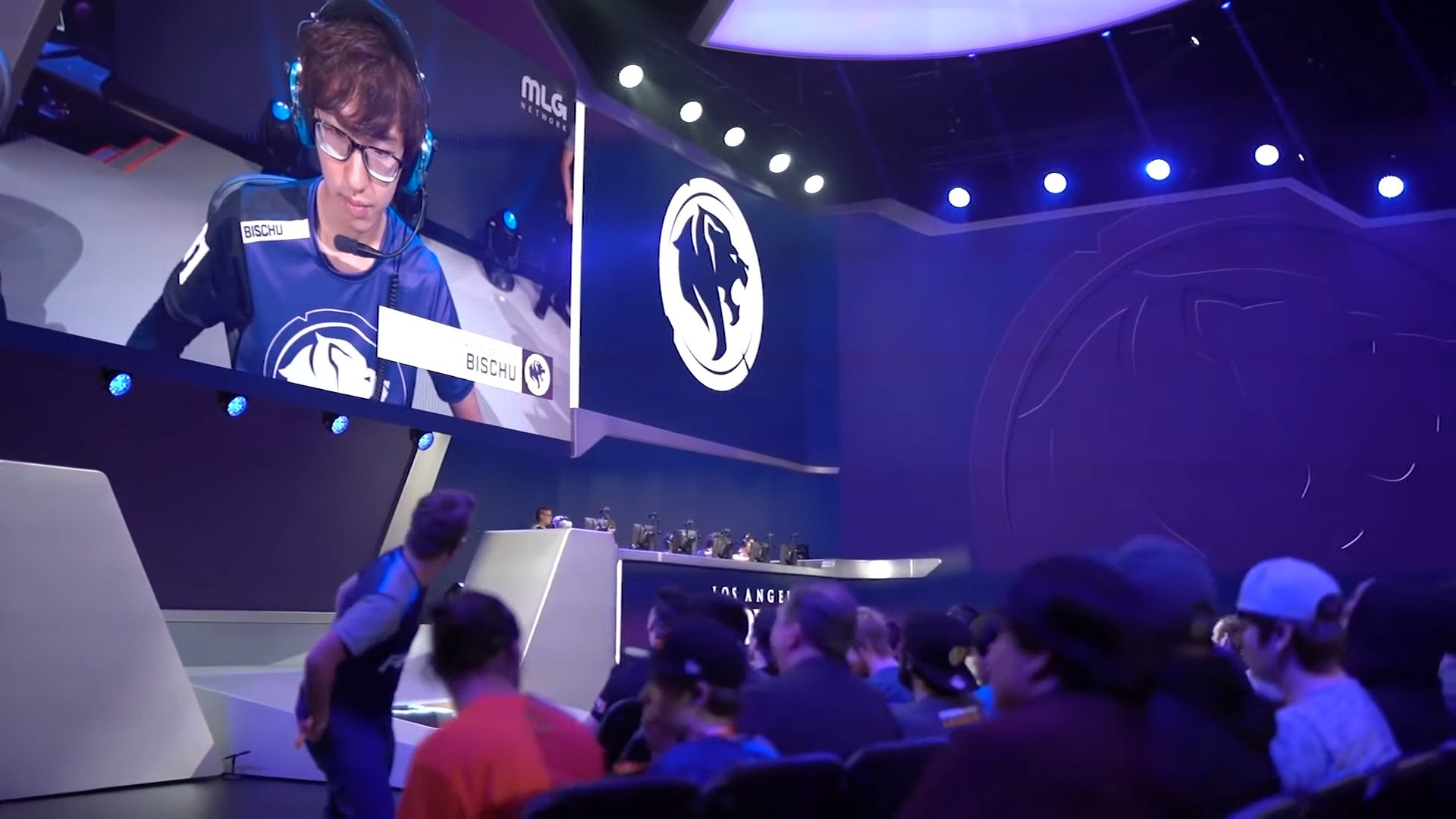 OWL – DPS Player Jaru And Off-tank Bischu Bid Farewell To The Los Angeles Gladiators