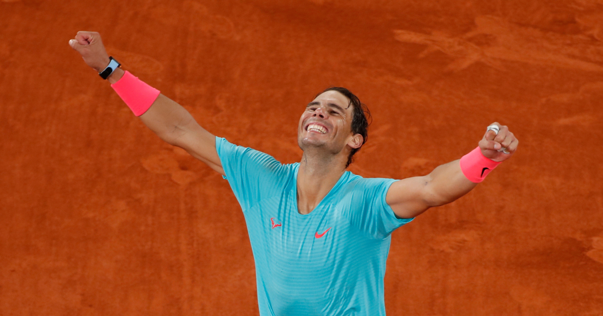 Nadal wins French Open to claim record-equalling 20th Grand Slam