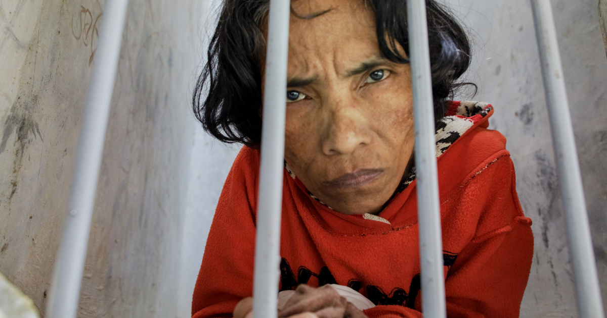 Kept in chains: People with mental illness shackled in 60 nations