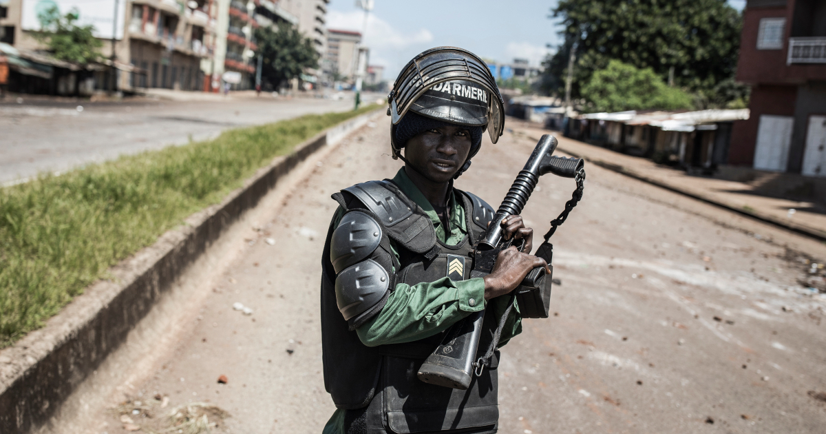 Nearly two dozen dead in Guinea post-election violence: State TV