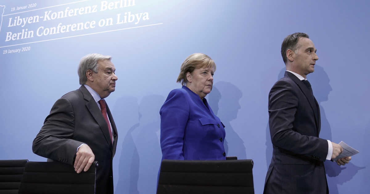 Germany 'cautiously optimistic' over efforts to end Libya war