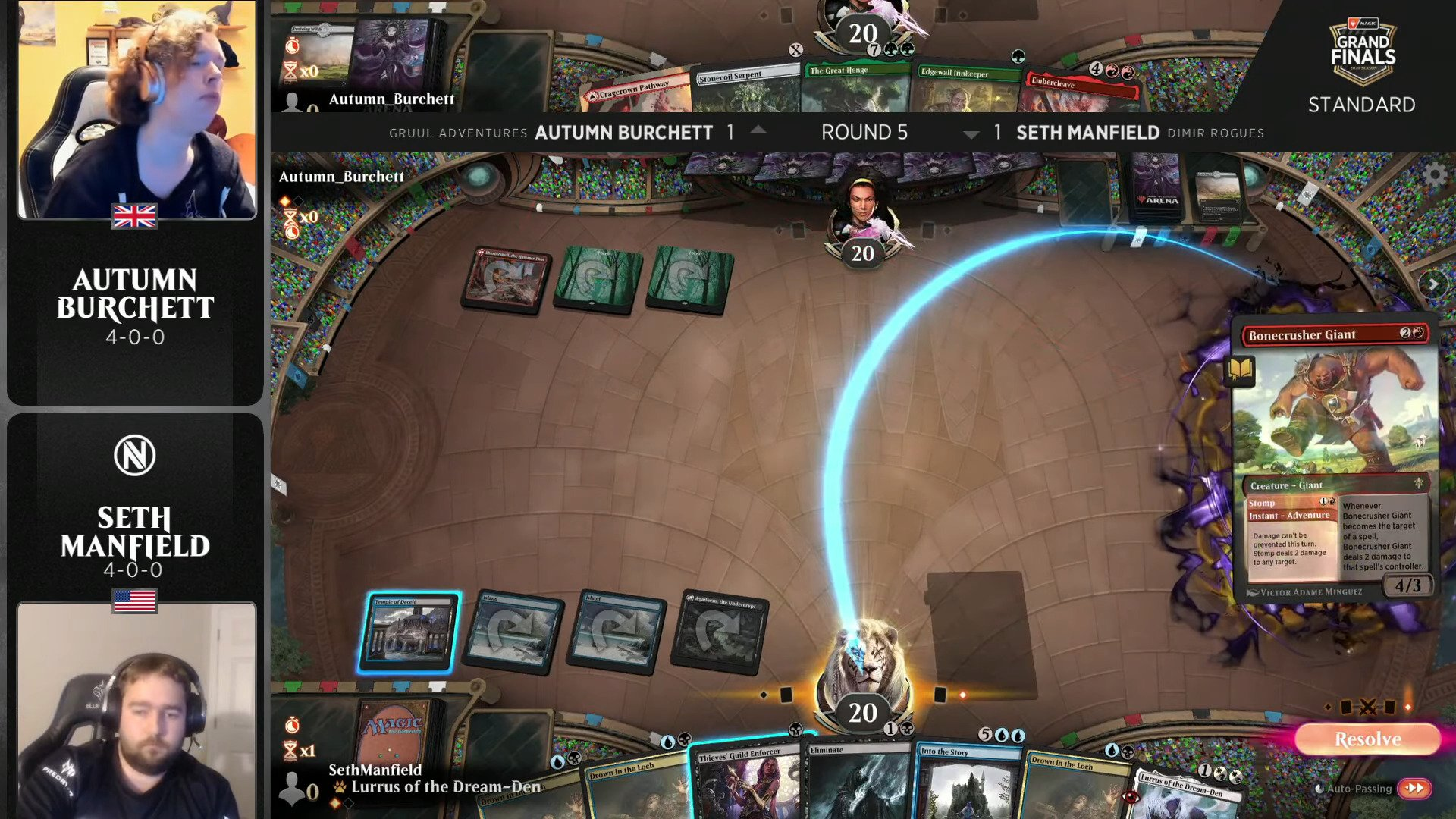 Magic: The Gathering 2020 Grand Finals Is Down To Top 8, Omnath Decks Dominate
