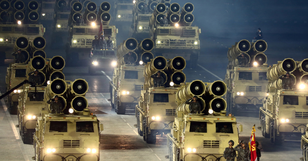 South Korea concerned over North's display of new weaponry
