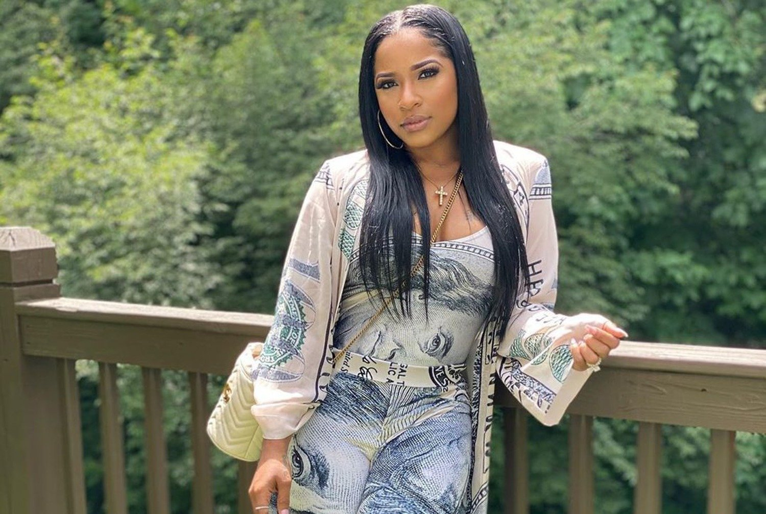 Toya Johnson Has An Early Birthday Dinner – See The Footage Of The Amazing Scenery And Decor