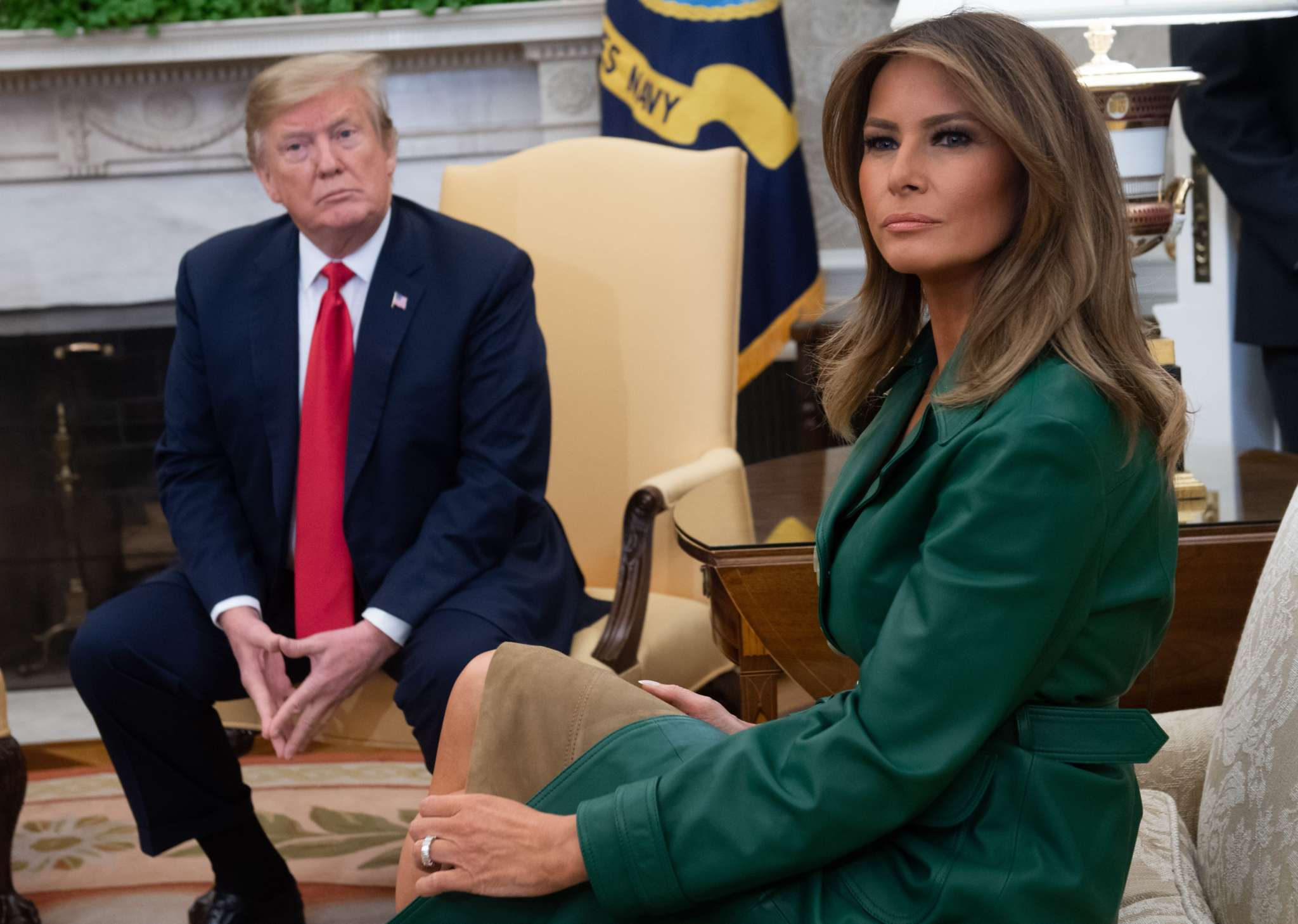 Melania Trump's Former BFF Releases Taped Phone Call Of The FLOTUS Saying She Doesn't 'Give A F**k' About The White House Christmas Decorations!