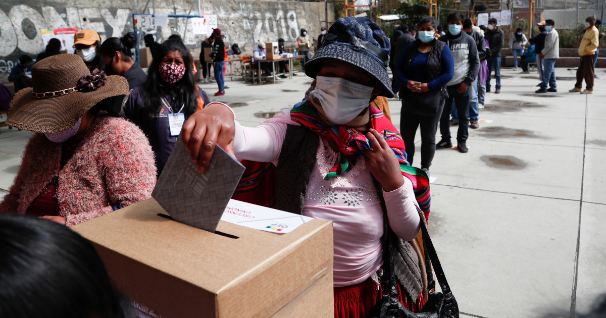 Bolivia votes in high-stakes presidential election amid pandemic