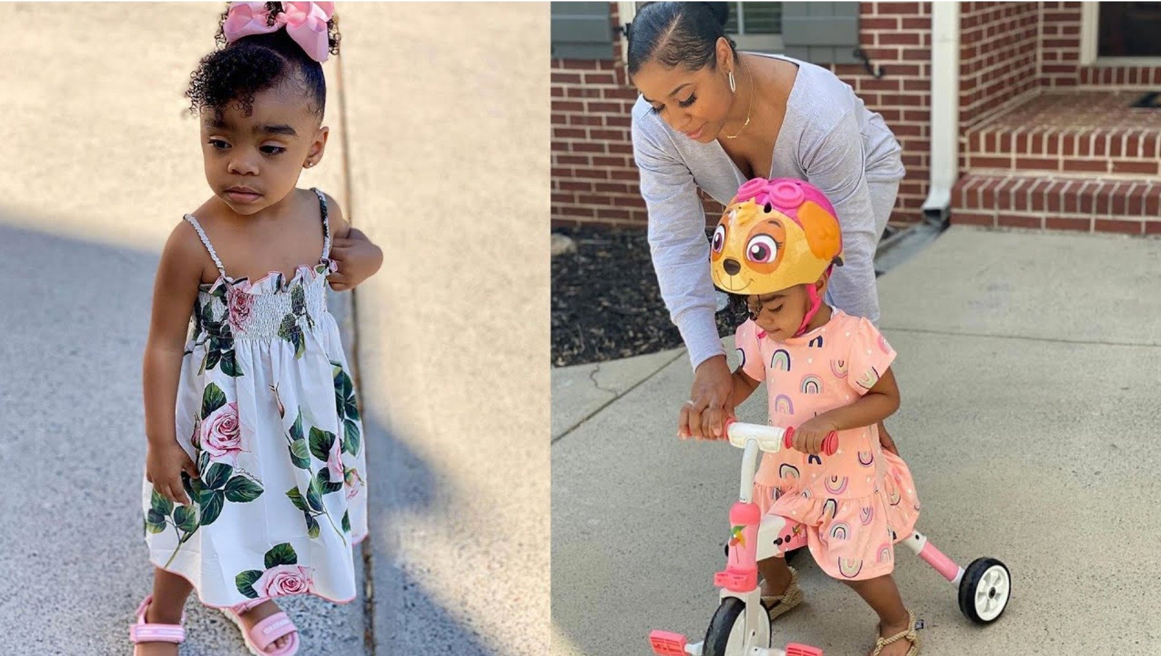 Toya Johnson's Latest Photos With Reign Rushing Will Melt Your Heart