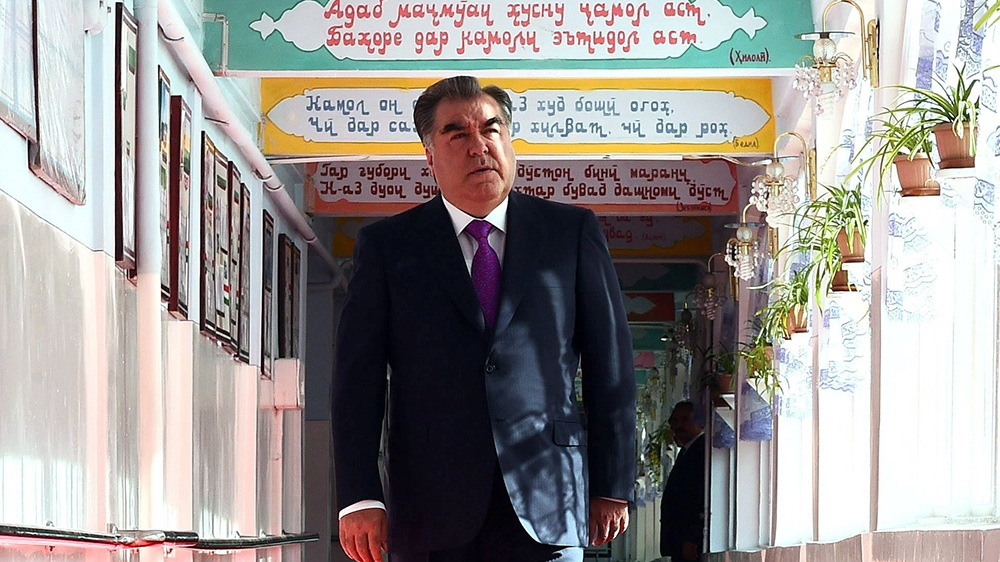 Tajikistan president on course to win re-election: Early results