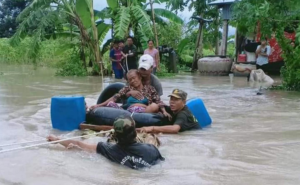 Deadly flooding displaces thousands across Mekong region