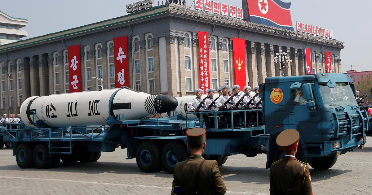North Korea state media quiet ahead of expected military parade