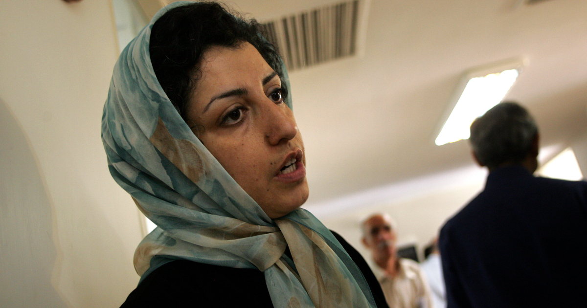 Iran rights activist Narges Mohammadi freed from jail