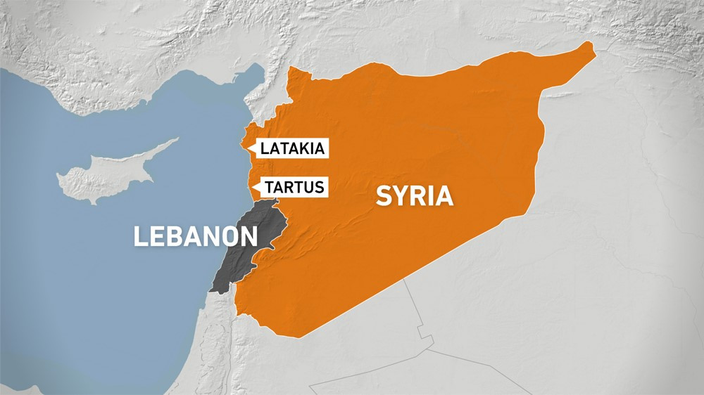 Two killed as massive forest fires rage in Syria