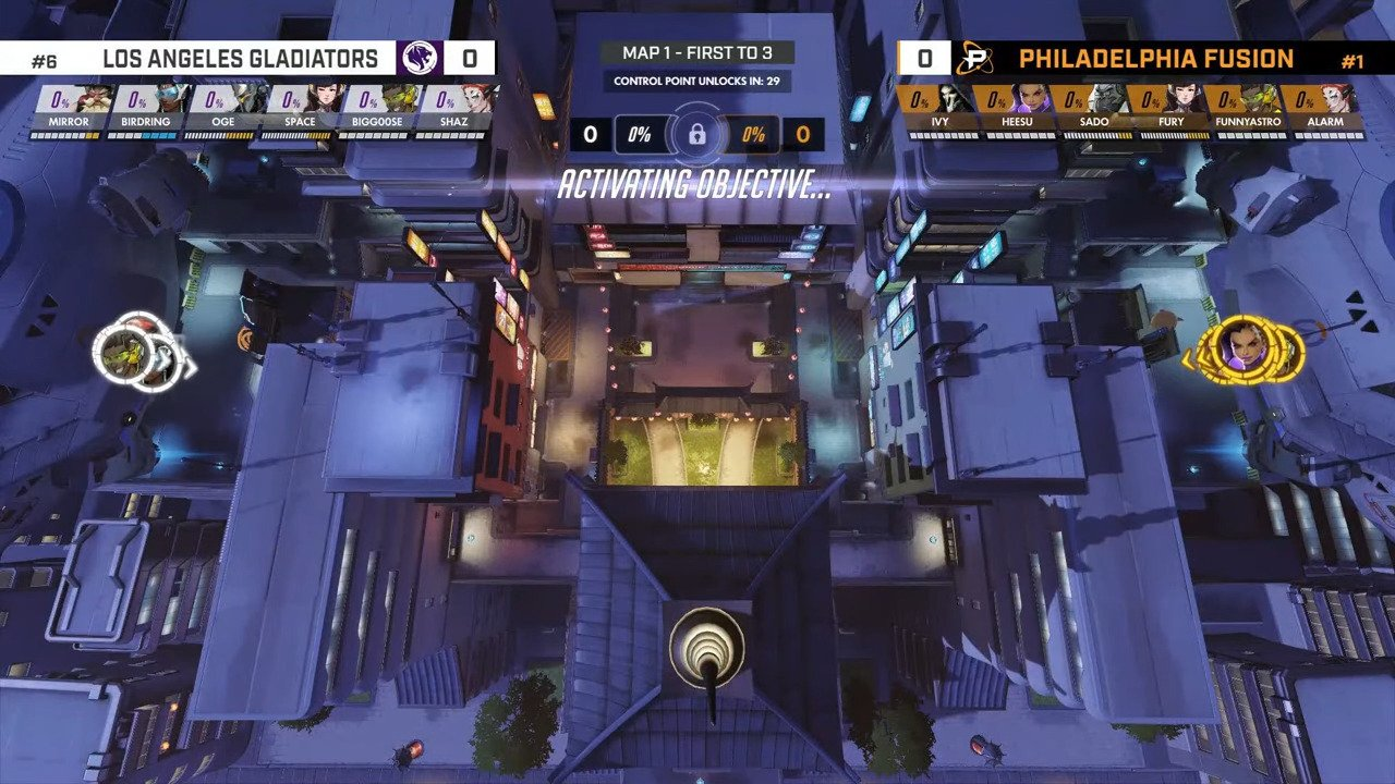 OWL – The LA Gladiators Release BigGoose And Shaz, Goose Retires While Shaz Is A Free Agent