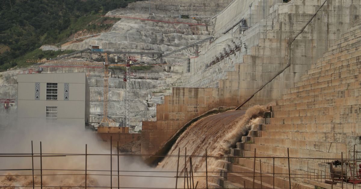 Ethiopia bans flights over huge dam 'for security reasons'