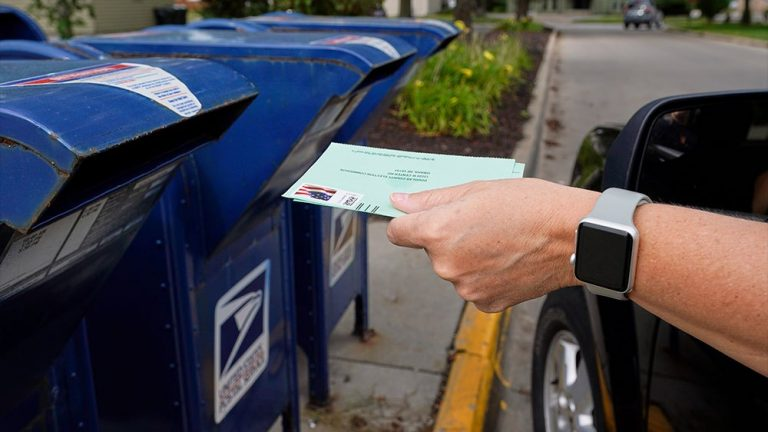 US ballot delivery delays are not illegal, postal service argues