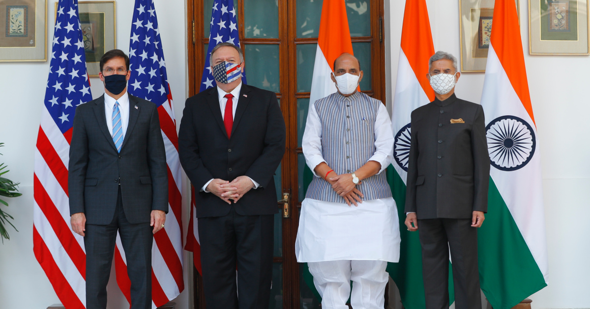 India, US to sign satellite data pact ahead of talks over China