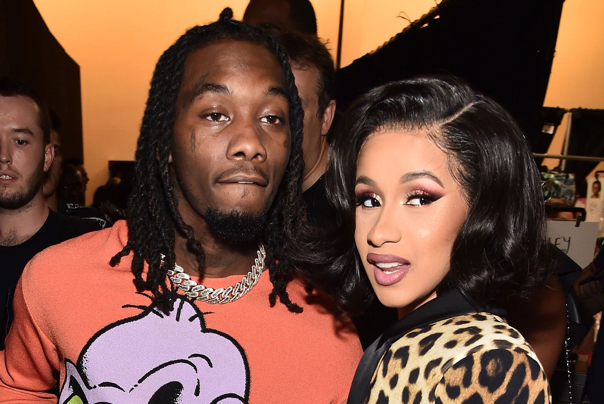 Offset Gifts Cardi B Massive Kulture Billboard For Her Birthday And She Loves It – Will She Take Him Back?