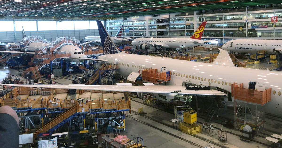 Takeoff: Boeing to move 787 production to South Carolina in 2021