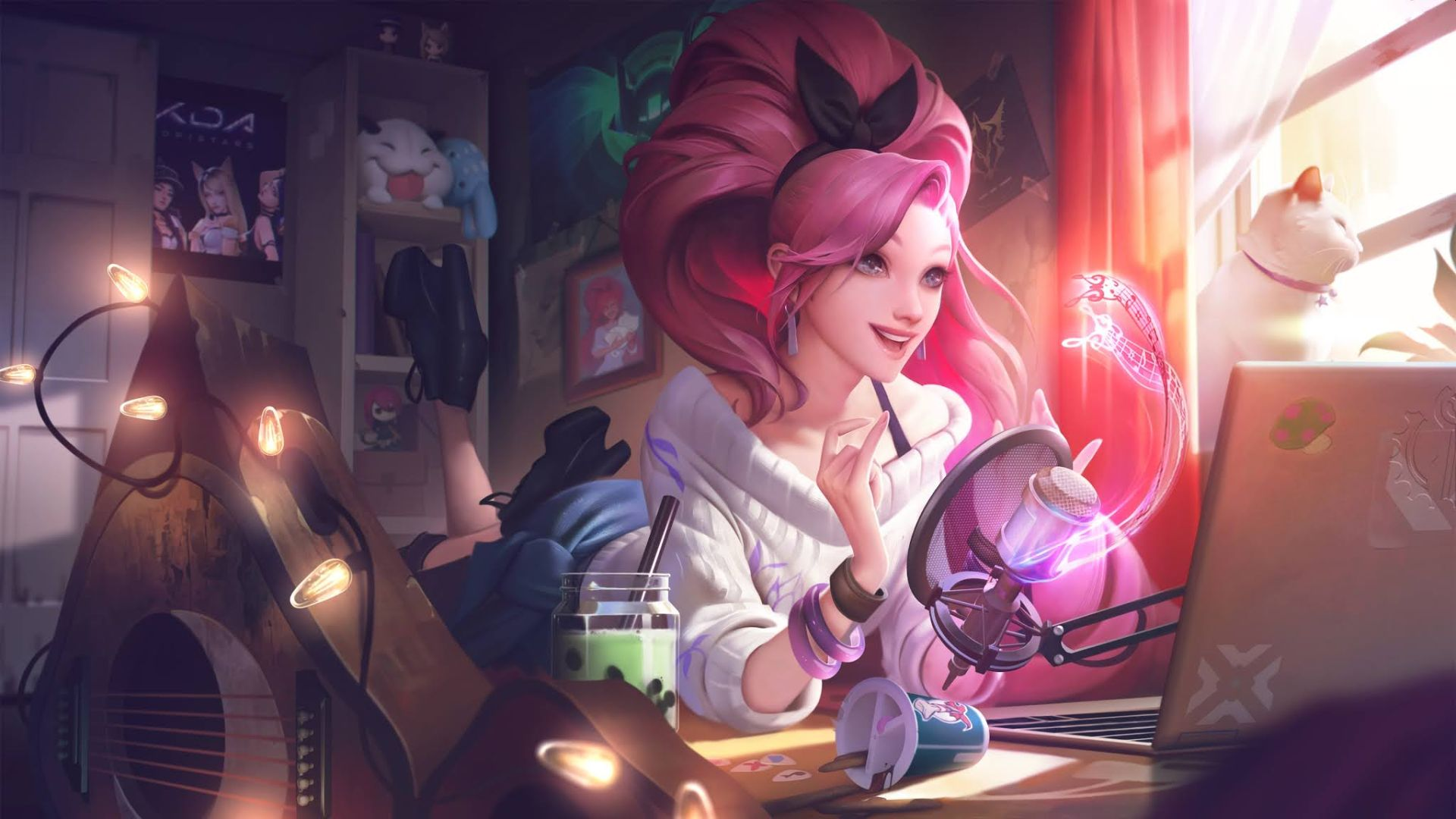 Riot Games Dropped A K/DA Magazine Featuring League Of Legends' Band And Guest Star Seraphine