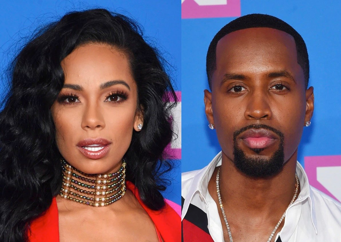 Safaree Celebrates His First Anniversary With Erica Mena – See His 'Dry' Message