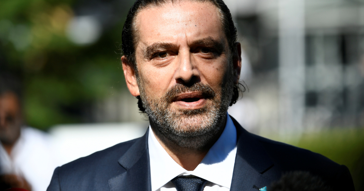 Ex-Lebanon PM Hariri says he is in the running to head new gov't