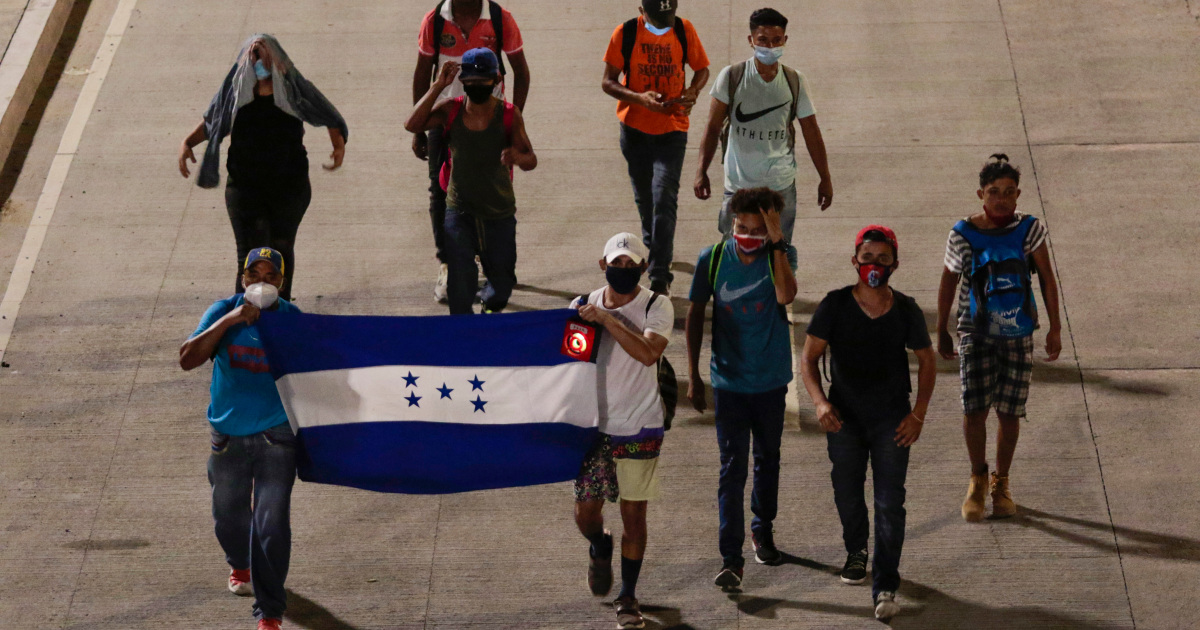 Migrant caravan sets out for the US amid COVID-19 concerns