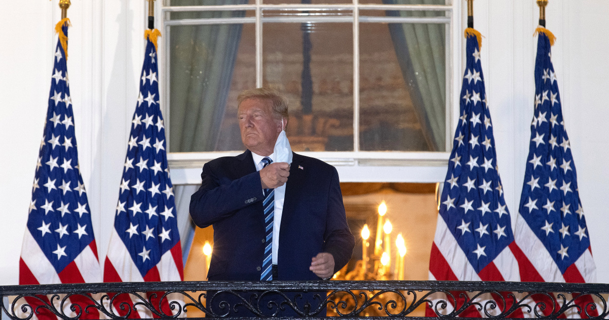 'Get out there': Still battling COVID-19, Trump leaves hospital