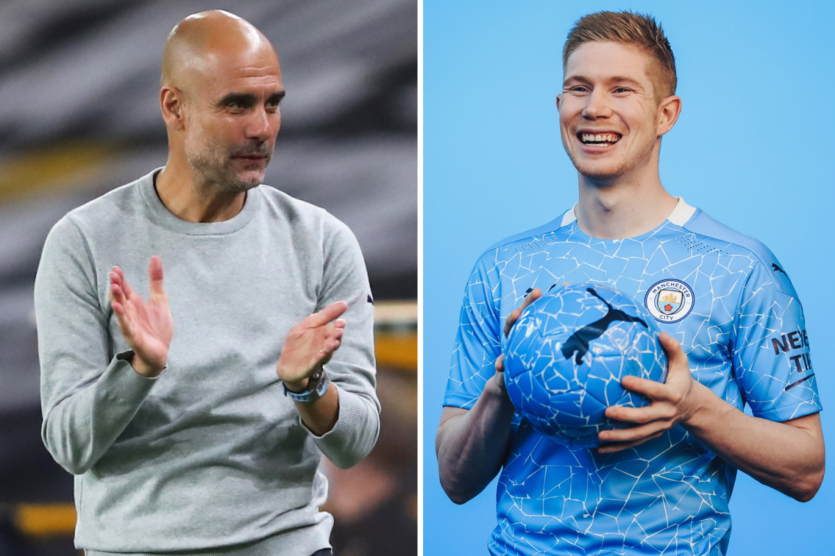 Kevin De Bruyne closing in on new two-year £300,000-a-week Man City contract after Champions League ban U-turn