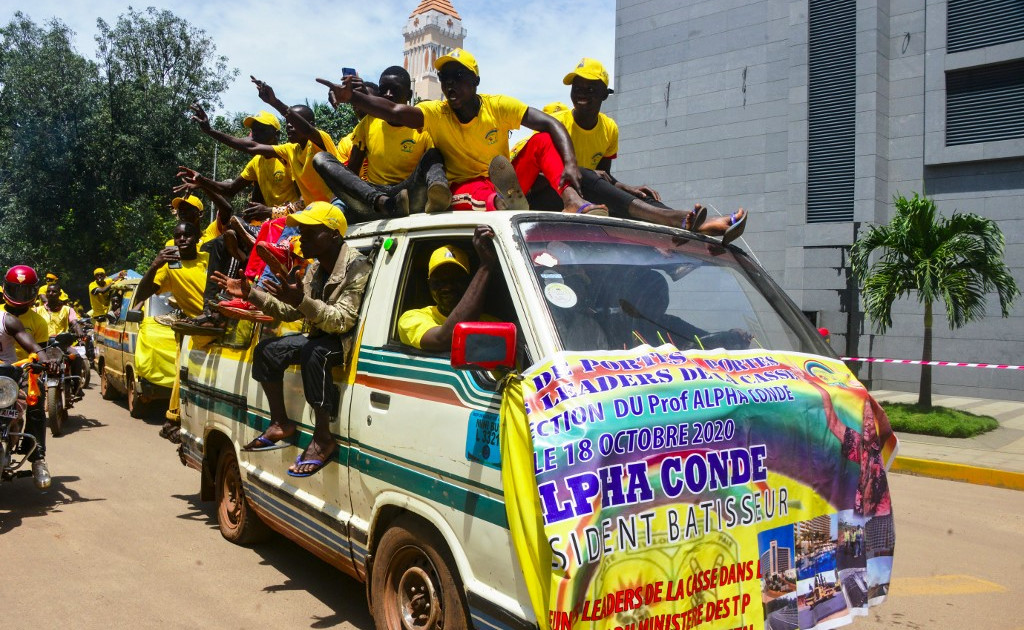 Guineans set to vote in tense presidential election