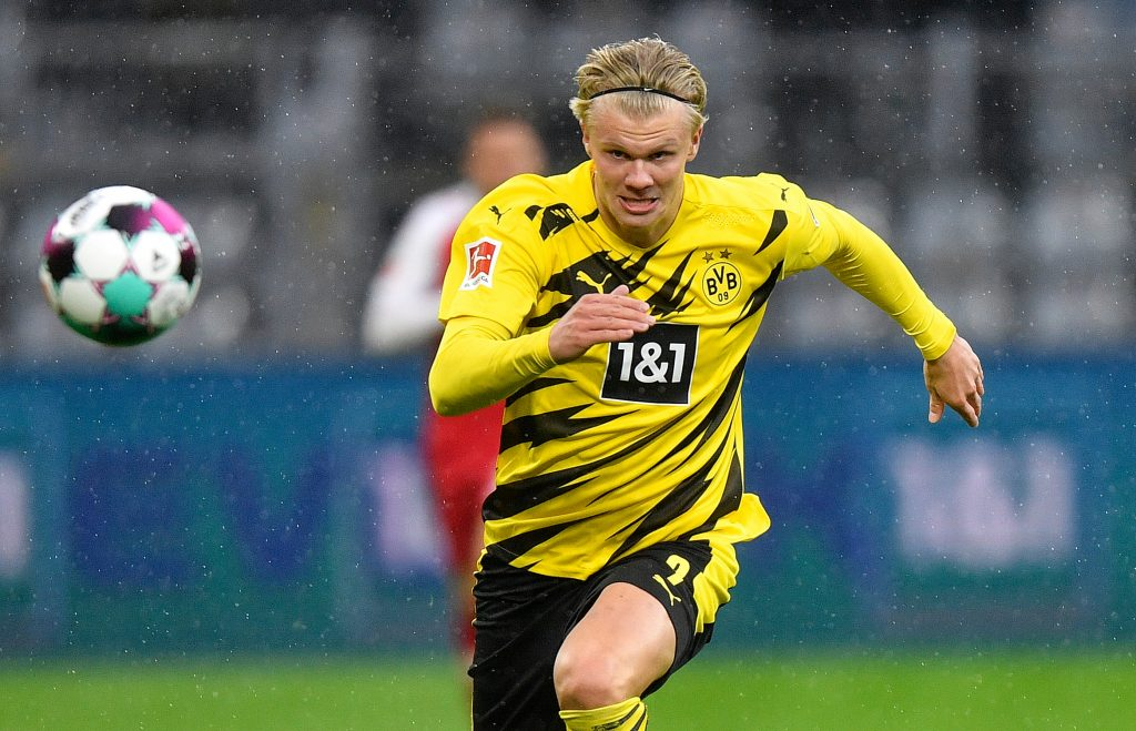 Real Madrid have also been linked with a move for Erling Haaland