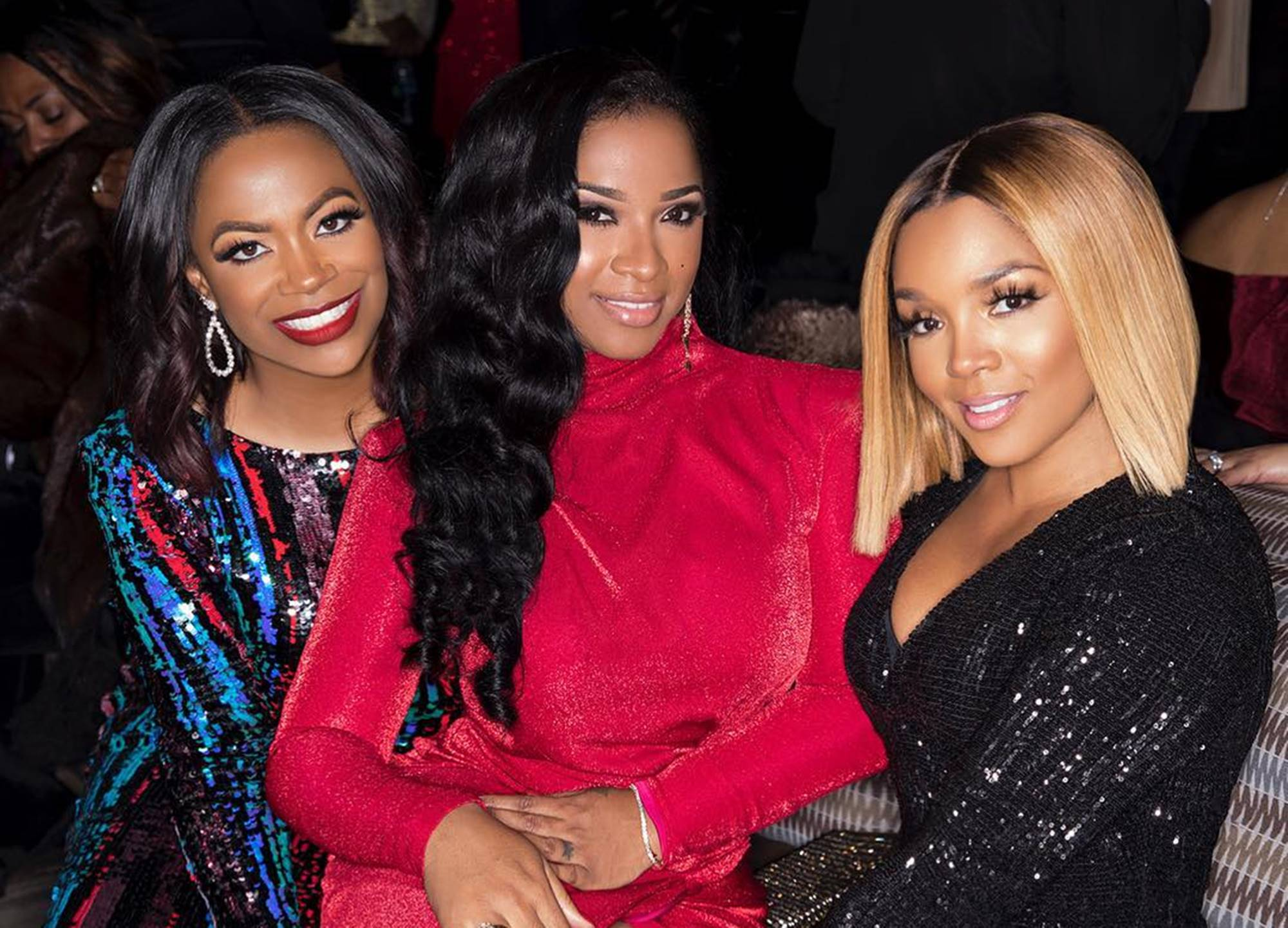Rasheeda Frost Hangs Out With Her Son, Karter, Toya Johnson And Reign Rushing