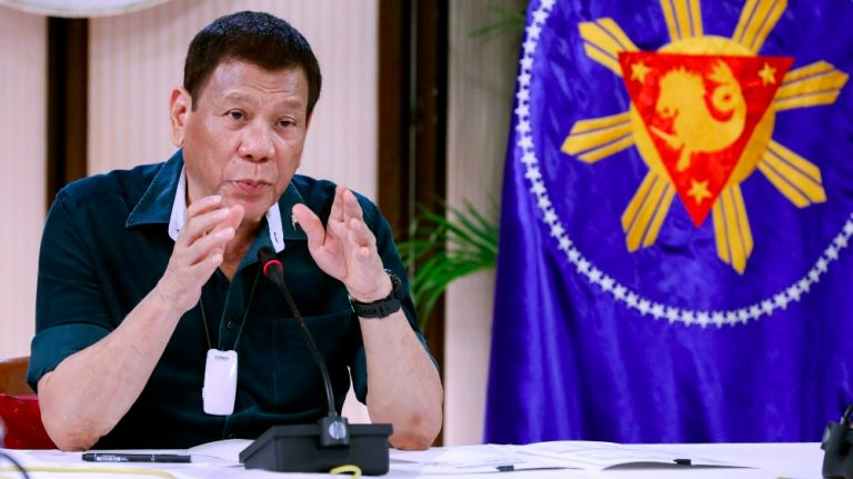 Duterte wants government-to-government deal for COVID-19 vaccines