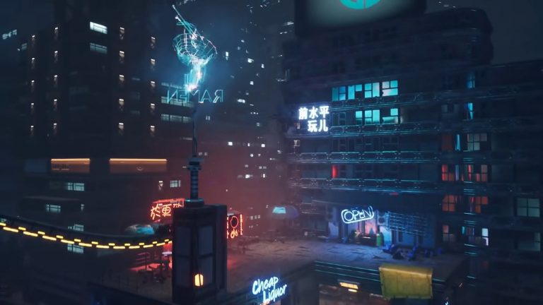What Is Ghostrunner? The Cyberpunk Action Platformer Is A Wild Ride, And A Lot Of Fun