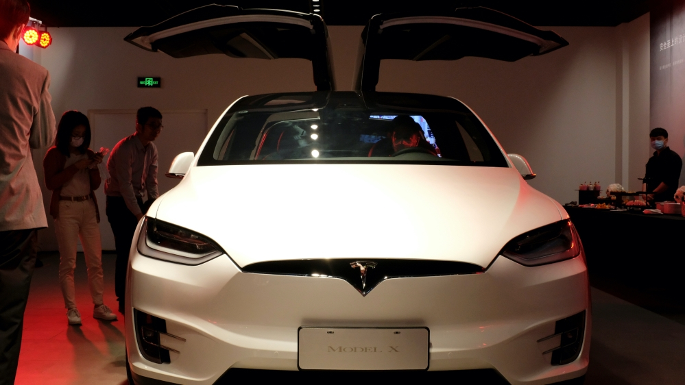 Tesla shares up 12 percent as automaker zooms to join S&P 500