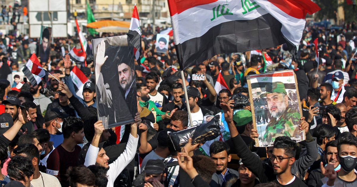 Tens of thousands of Sadr supporters rally in Iraq