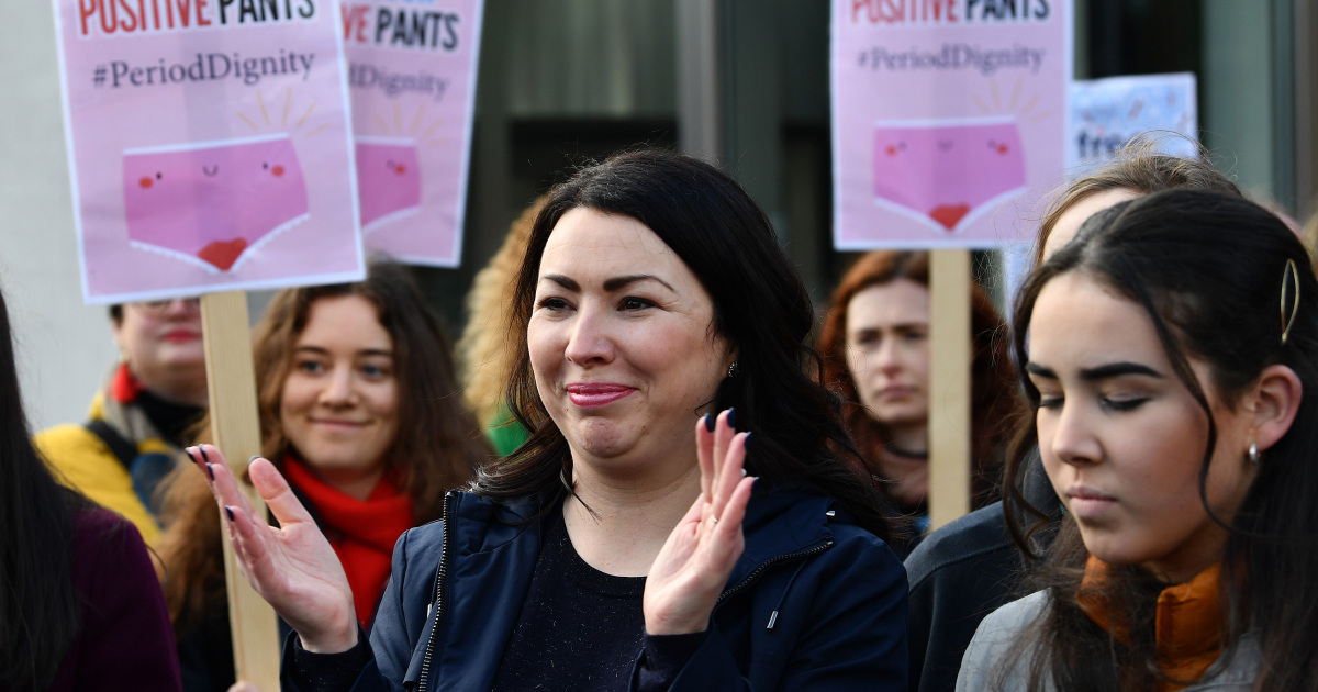 Scotland first in the world to make sanitary products free