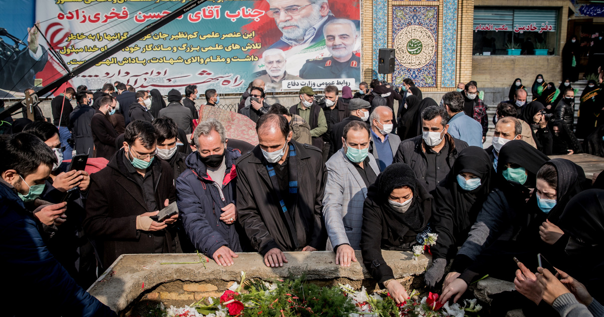 Iranian official accuses Israel of killing Fakhrizadeh remotely