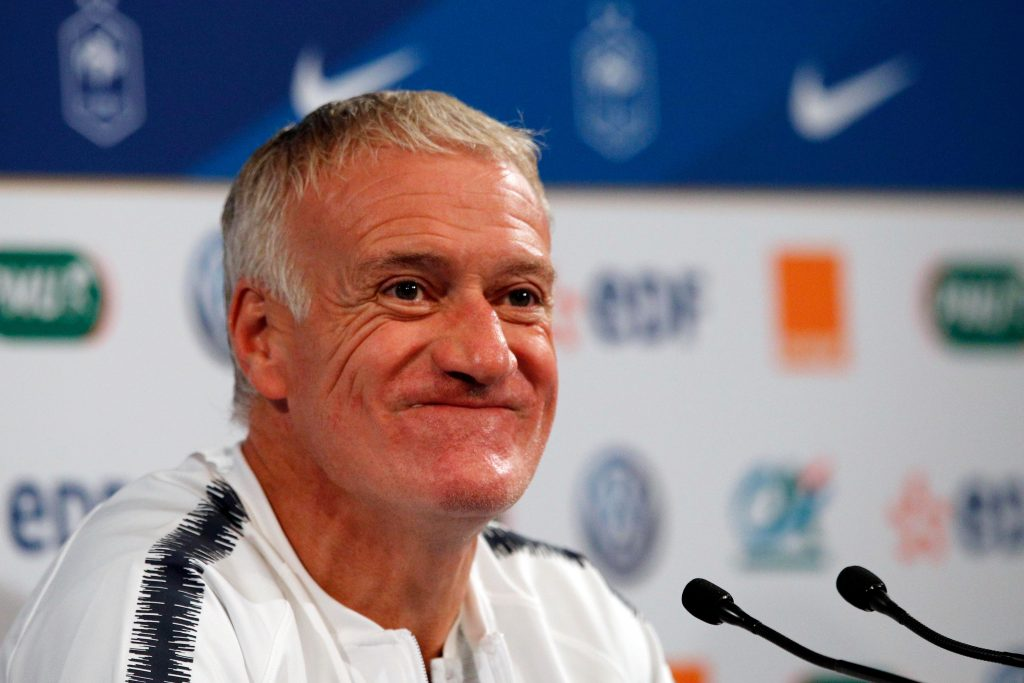 France boss Didier Deschamps has admitted he was 'surprised' by Koscielny's criticism