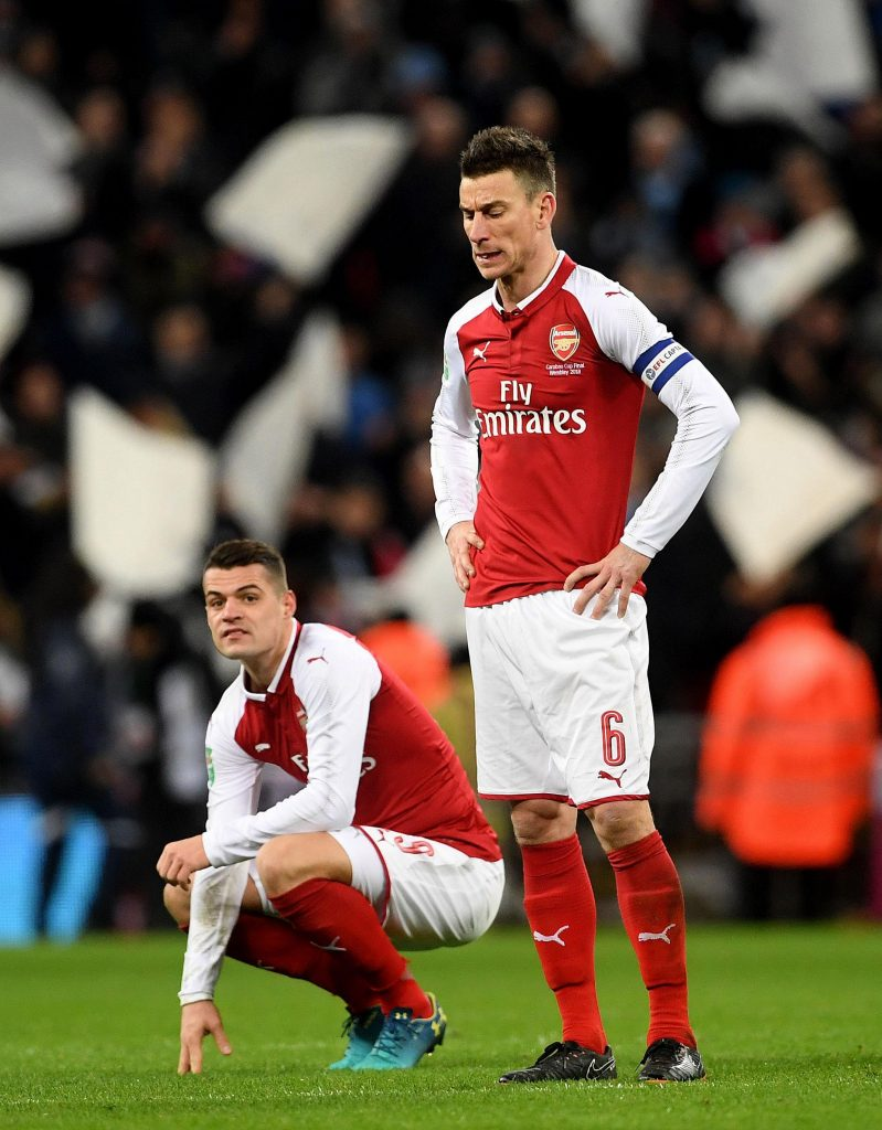 Koscielny has made 238 appearances for the Gunners
