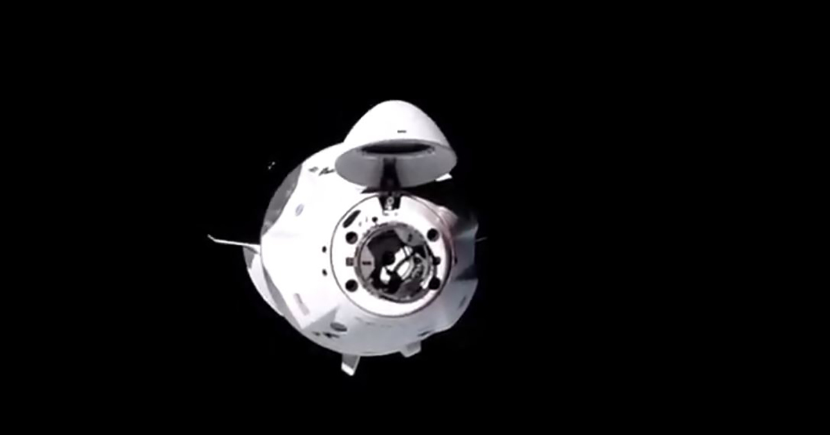SpaceX capsule with four astronauts docks at space station