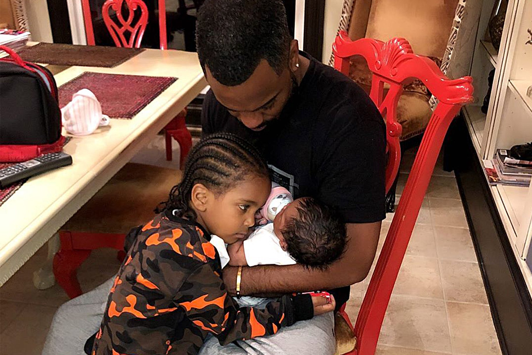 Todd Tucker Shares A Photo Of His Baby Girl, Blaze And Fans Are In Love With Her Smile