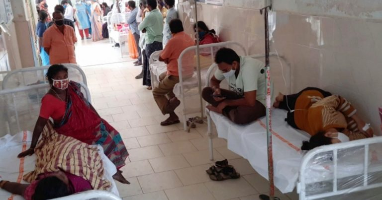 Hundreds hospitalised with 'mystery' illness in southern India